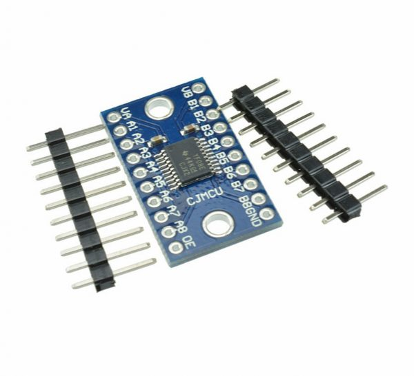 TXS0108E Convertidor de nivel logico 8 canales TTL 3.3V 5V bidireccional
