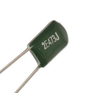 Condensador poliester 47nF 250v 2E473J