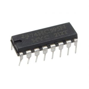 74HC595 74595 SN74HC595N 8-Bit Shift Register DIP-16