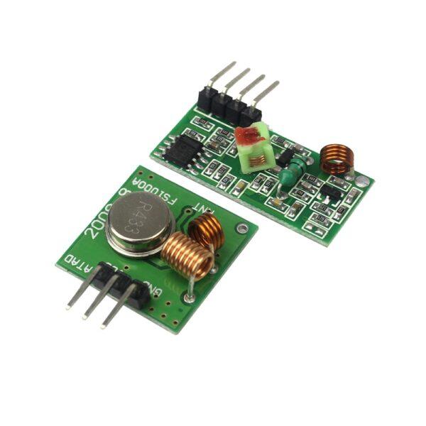 Rf modulo transmisor y receptor inalambrico 315 MHZ