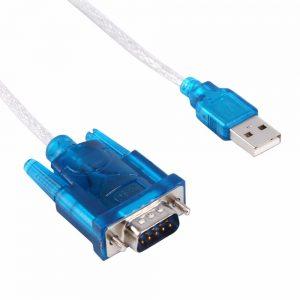 CABLE ADAPTADOR USB 2.0 A PUERTO SERIE DB9 RS232 PC PORTATIL