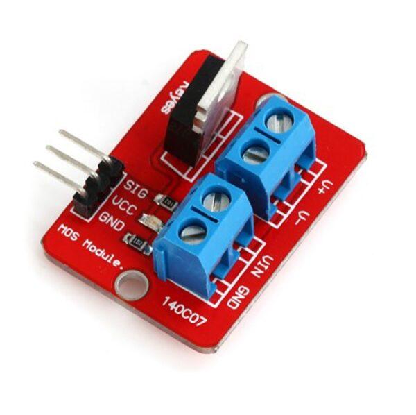 Controlador IRF520 PWM Mosfet 24V 5A Motor LED