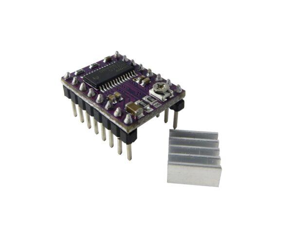 DRV8825 + Radiador stepstick Impresora 3D