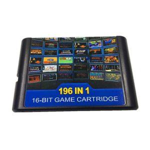 Cartucho Sega Mega Drive 196 en 1
