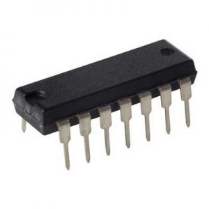 2x 74LS08 = SN74LS08N DIP-14 AND