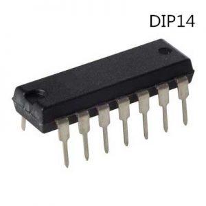 2x IC 74LS02N