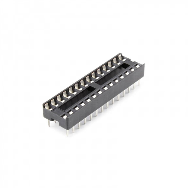 5x Zocalo integrado 28 PINs DIP 28 Socket doble contacto