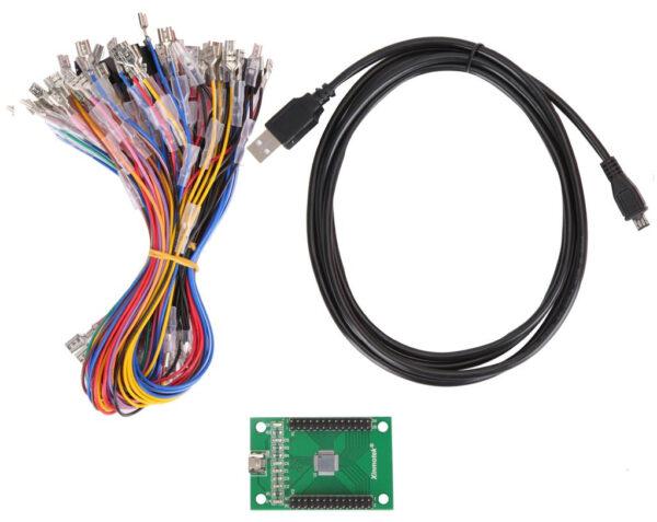 Xin Mo Arcade USB 2 player encoder PC Interfaz Raspberry Pi PC PS3