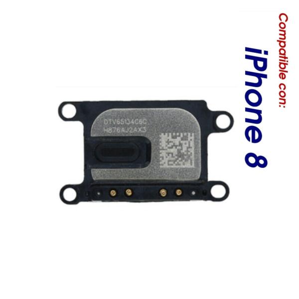 Auricular Interno iPhone 8 Altavoz Frontal Superior Oido