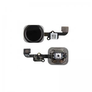 Boton Home iPhone 6S Negro Cable Flex Menu Huella Touch ID Inicio 6S