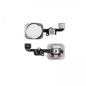 Boton Home iPhone 6S plus Blanco Cable Flex Menu Huella Touch ID Inicio 6S+