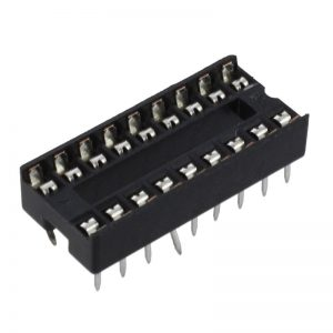10x Zocalo integrado 18 PINs DIP 18 Socket doble contacto