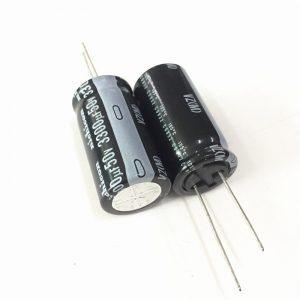 4x Condensador electrolitico 3300uF 50V 105º C 18x35 MM