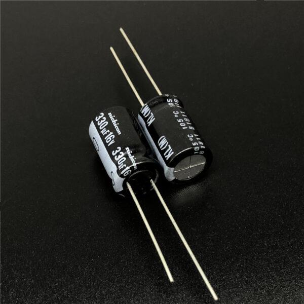 10x CONDENSADOR ELECTROLITICO 330uF 16v 105º C