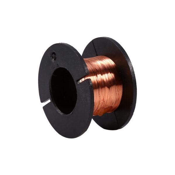Bobina hilo cobre esmaltado 0.1 mm