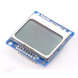 Pantalla GRAFICA LCD NOKIA 5110 3310 84x48 SPI arduino Display Azul