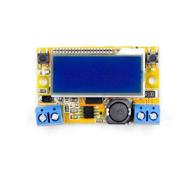 Regulador de voltaje - corriente amperaje DC pantalla LCD voltaje 5-23V 3A