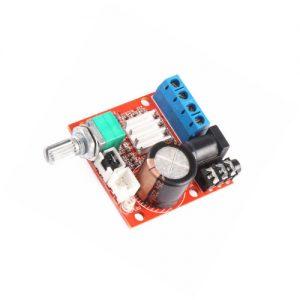 PAM8610 mini amplificador de potencia TDA2030 12V 10W amplificador estéreo de clase D