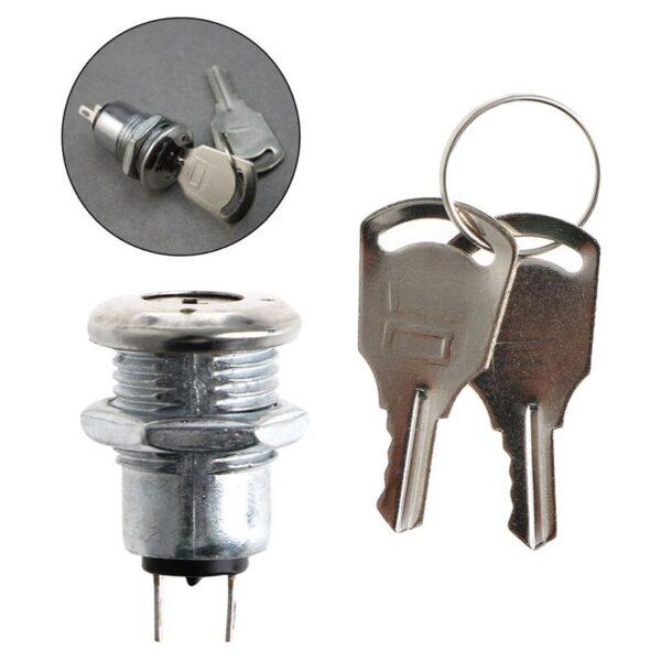 Interruptor ON OFF KS-02 con llave 1A 220v