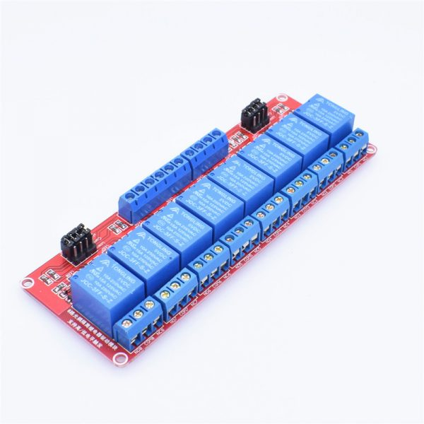 Modulo rele 8 canales 5V LOW/HIGH LEVEL