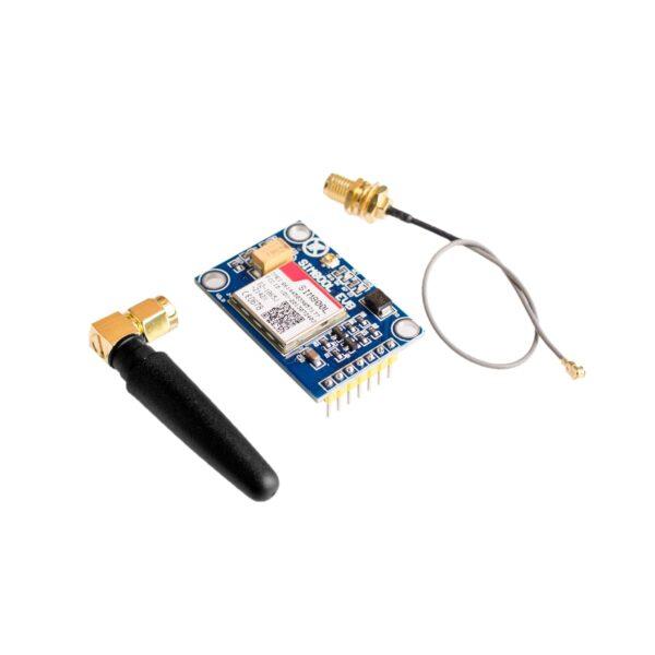 SIM800L V2.0 5V modulo inalambrico GPRS GSM cuatribanda con antena