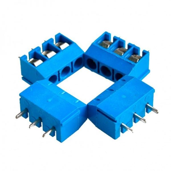 5x Bloque Terminal Clema Conexion 3 pines PCB - SCREW TERMINAL BLOCK 3 pins