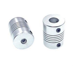 2 x acopladores flexibles 5mm 8mm eje Z