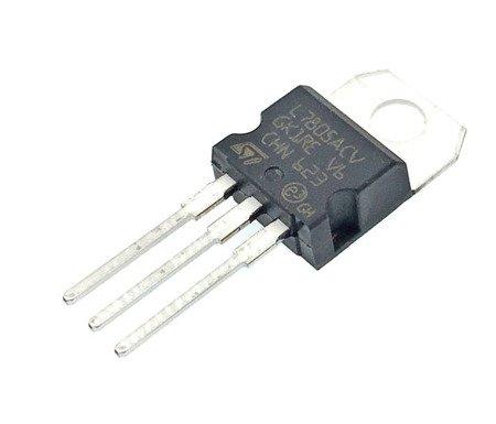 6x regulador de voltaje L7805CV LM7805 7805 5V 1.5A - TO-220