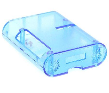Raspberry Pi 2 & 3 CASE Transparente Azul