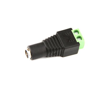 2x DC jack 5.5 x 2.1 adaptador de suministro de aire