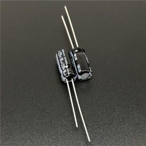 10x CONDENSADOR ELECTROLITICO 10uF 25v 105º C - ELECTROLYTIC CAPACITOR