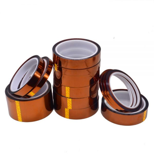 Cinta Termica Kapton 5mm Tape Temperature Resistant Polyimide 3D Printer