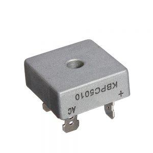 KBPC5010 Puente Rectificador 50A 1000V 5010 Caja Metal Bridge Rectifier