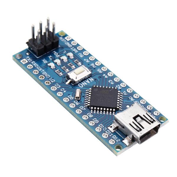 NANO V3.0 ATmega328P CH340G 16Mhz SIN SOLDAR 100% Compatible Arduino