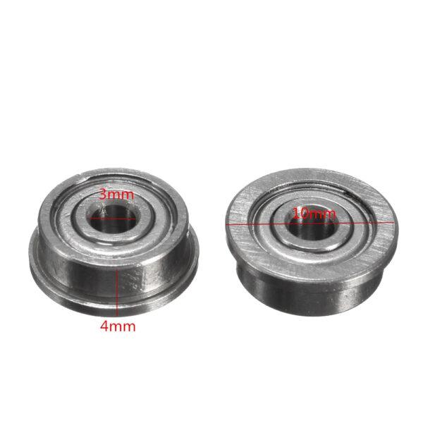 2x Rodamiento con Pestaña F623ZZ Cojinete Bolas Impresora 3D Reprap Prusa