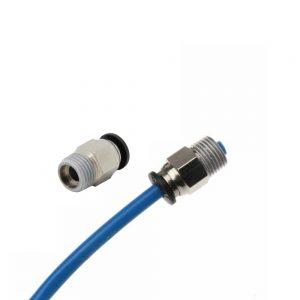 PC4-M10 conector neumático acoplador Racor PTFE Impresora 3d Atraviesa