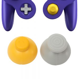 SET DE JOYSTICKS THUMB STICKS GAME CUBE