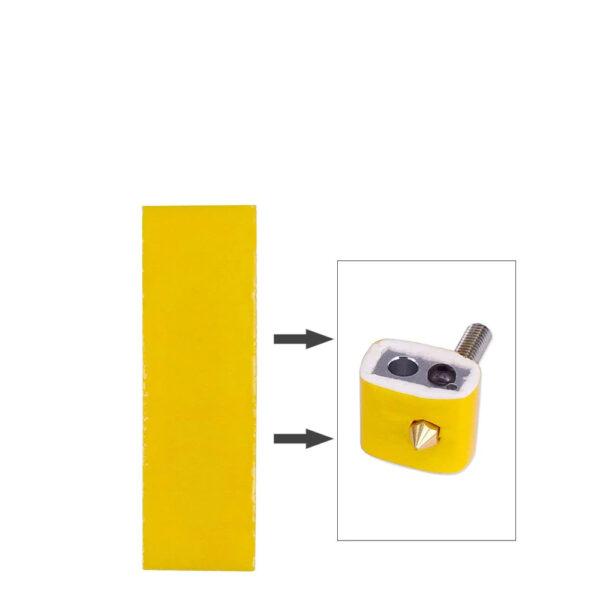 Algodón disipador aislamiento térmico Hotend boquilla Ultimaker Makerbot 3mm