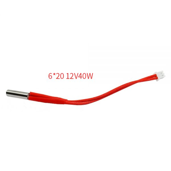 CARTUCHO CALENTADOR CERAMICO 12V 40W Cartridge Heater 3D Terminal PH2.0-2pin