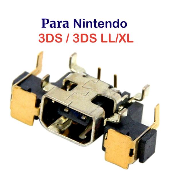 CONECTOR DE CARGA PARA NINTENDO 3DS / 3DS LL/XL