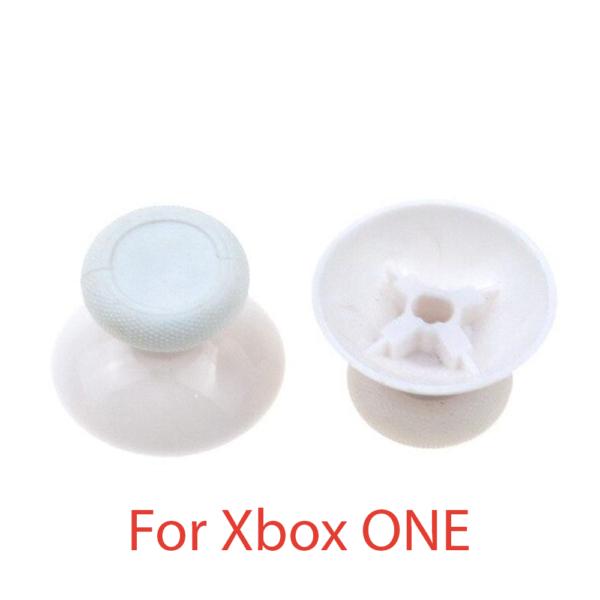 2x JOYSTICK XBOX ONE STICK BLANCO MANDO BOTONES L3 R3 PALANCAS