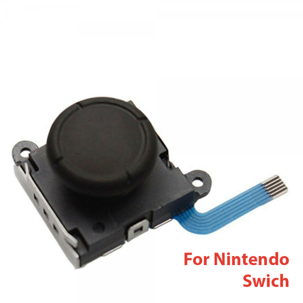 Joystick Mandos Nintendo Switch Joy-Con Flex Stick Joycon Movimiento Repuesto Negro