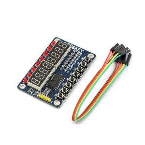 MODULO TM1638 LED&KEY CON LEDS ROJOS