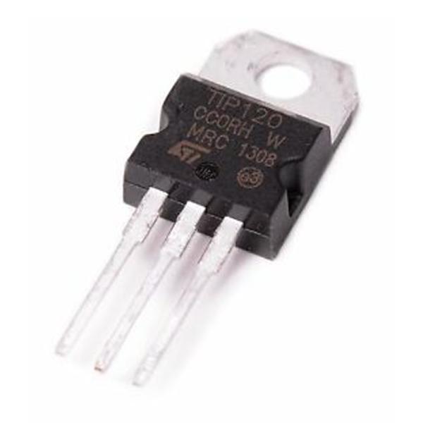 6x Transistor TIP120 DARLINGTON NPN 60V 5A - TRANSISTOR TO-220