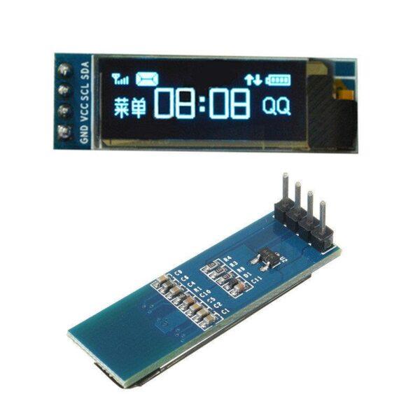 Pantalla display oled 0.91 pulgadas azul 128X32