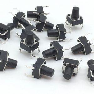 20x Pulsador 6x6x10 10mm