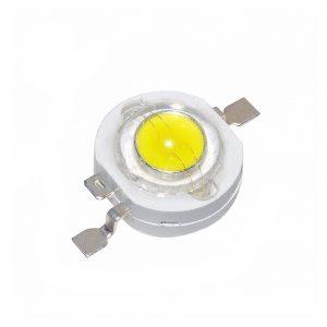 2x LED CHIP BOMBILLA 3W Blanco Frio