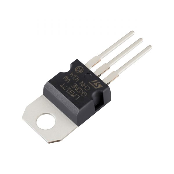 6x REGULADOR TENSION LM317T 1.2V A 37V 1.5A TO-220