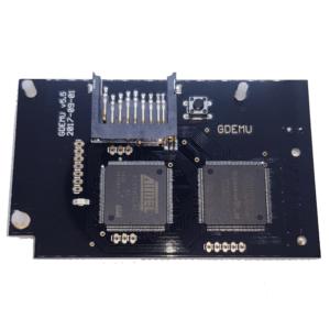 Dreamcast GDEMU GD-Emu v5.5 Rhea SD USB GDROM Sega + Tray