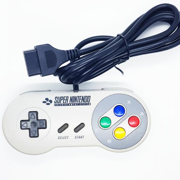 Mando original Super nintendo SNES adaptado a Neo Geo AES CD MVS SNK Jamma